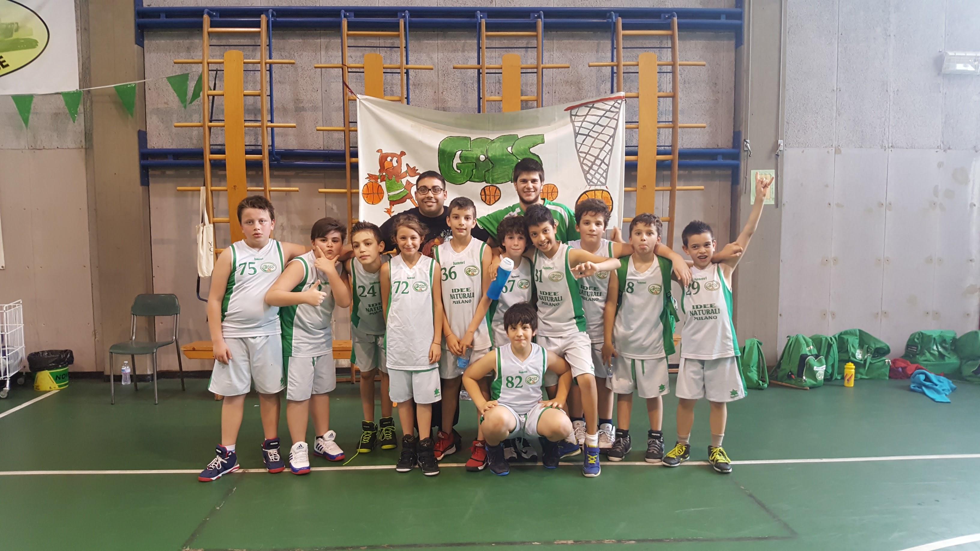 Squadra Aquilotti (nati nel 2005) stagione 2015/2016