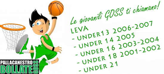 Sono sempre aperte le iscrizioni per la leva basket per le categorie: Under 13 (nati nel 2006/2007) Under 14 (nati nel 2005) Under 16 (nati nel 2003/2004) Under 18 (nati […]