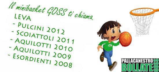 Sono sempre aperte le iscrizioni per la leva minibasket per bambini e ragazzi nati negli anni: 2008 – 2009 – 2010 – 2011 – 2012 Durante tutto l'anno sarà possibile […]