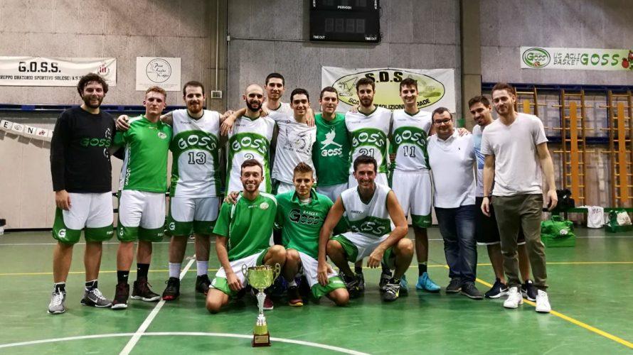 W I N N E R ! ! ! Per il secondo anno di fila la GOSS vince il torneo di basket della settimana dello sport di Bollate. Complimenti ai […]